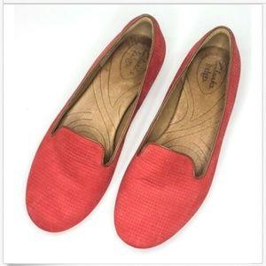 Clarks Indigo Slip On Ballet Flats Loafers 6.5M